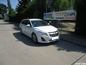 Chiptuning a deaktivace EGR ventilu Chevrolet Cruze 2.0 VCDI