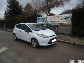 Chiptuning a deaktivace EGR ventilu Ford Fiesta 1.4 TDCi