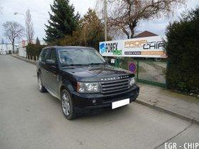 Chiptuning a deaktivace EGR ventilu Land Rover Range Rover Sport 2.7 TD
