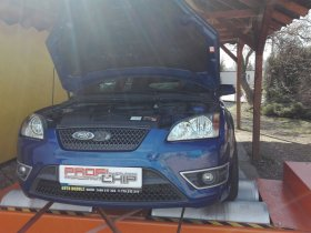 Chiptuning a měření na válcové zkušebně vozu Ford Focus 2.5ST