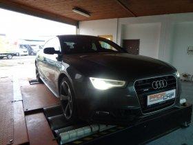 Chiptuning a měření na válcové zkušebně vozu Audi A5 3.0TDI