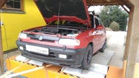 Chiptuning a měření na válcové zkušebně vozu Škoda Felicia 1.6i