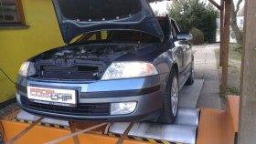 Chiptuning a měření na válcové zkušebně vozu Škoda Octavia 1.9TDI