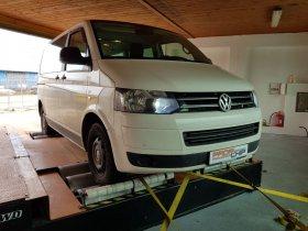 Chiptuning a měření na válcové zkušebně vozu VW Transporter 2.0 TDI