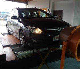 Chiptuning a měření na válcové zkušebně vozu Hyundai i30 CW