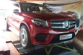 Chiptuning a měření na válcové zkušebně vozu Mercedes-Benz GL 350d