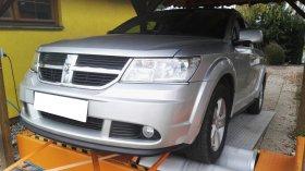 Chiptuning a měření výkonu na válcové zkušebně vozu Dodge Journey 2.0 CRD