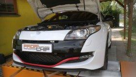 Chiptuning a měření výkonu vozu Renault Megane III 2.0 RS