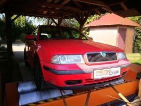 Chiptuning a měření výkonu vozu Škoda Octavia I 1.8 Turbo
