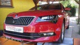 Chiptuning a měření výkonu vozu Škoda Superb III 2.0 TDI CR