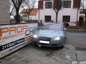 Chiptuning a odstranění DPF Audi A6 2.7 TDI