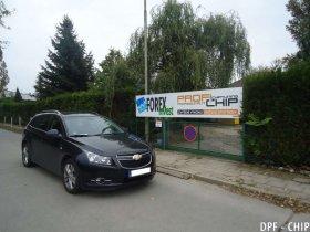 Chiptuning a odstranění DPF Chevrolet Cruze 2.0 VCDi