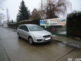 Chiptuning a odstranění DPF Ford Focus 1.6 TDCi