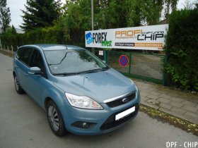 Chiptuning a odstranění DPF Ford Focus II 1.6 TDCi
