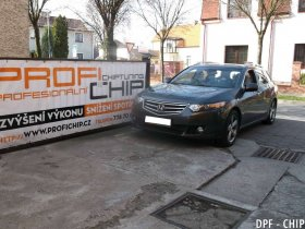 Chiptuning a odstranění DPF Honda Accord 2.2 CDTi
