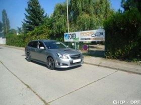 Chiptuning a odstranění DPF Subaru Legacy 2.0D