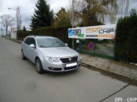 Chiptuning a odstranění DPF Volkswagen Passat 2.0 TDI-PD
