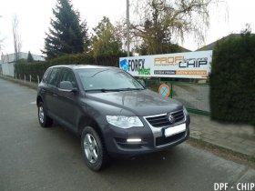 Chiptuning a odstranění DPF Volkswagen Touareg 2.5 TDI