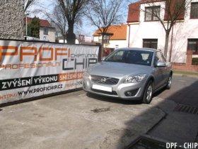 Chiptuning a odstranění DPF Volvo C30 1.6D