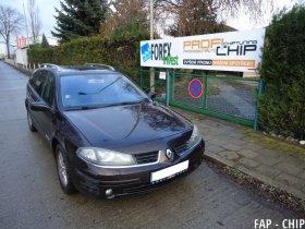 Chiptuning a odstranění FAP Renault Laguna 1.9 DCI