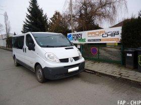 Chiptuning a odstranění FAP Renault Trafic 2.5 DCI
