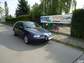 Chiptuning Alfa Romeo 156 1.9 JTD