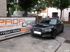 Chiptuning Audi A3 1.6 TDI-CR