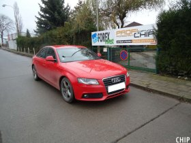 Chiptuning Audi A4 2.0 TDI
