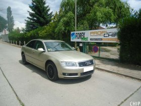 Chiptuning Audi A8 4.0 TDI