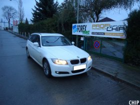 Chiptuning BMW 318D (E91)