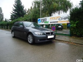 Chiptuning BMW 320D (E91)