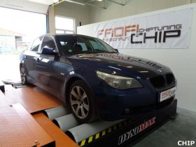 Chiptuning BMW 525D