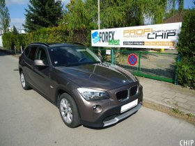 Chiptuning BMW X1 18D