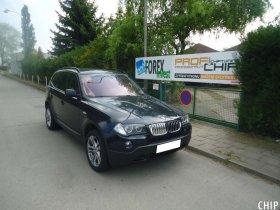 Chiptuning BMW X3 2.0D