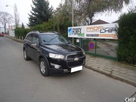 Chiptuning Chevrolet Captiva 2.2 CDTi