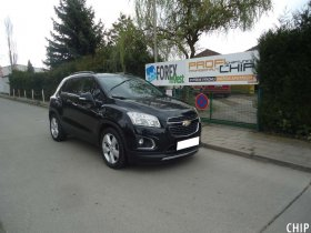 Chiptuning Chevrolet Trax 1.4 Turbo