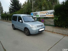 Chiptuning Citroën Berlingo 1.6i 16V LPG