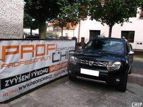 Chiptuning Dacia Duster 1.5 DCI