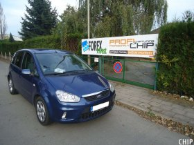 Chiptuning Ford C-max 1.6 TDCi