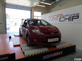 Chiptuning Ford Fiesta 1.6 TDCI