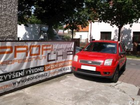 Chiptuning Ford Fusion 1.6 TDCi