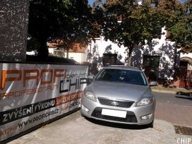 Chiptuning Ford Mondeo MK4 1.8 TDCi