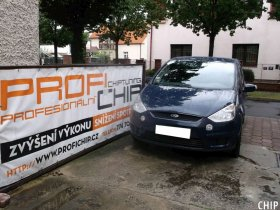 Chiptuning Ford S-Max 2.0 TDCi