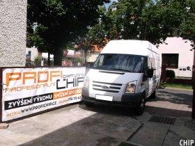 Chiptuning Ford Transit 2.4 TDCi