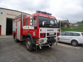 Chiptuning hasičského auta MAN LE 180