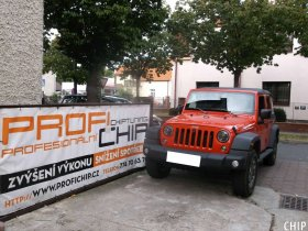 Chiptuning Jeep Wrangler Rubicon 2.8 CRD