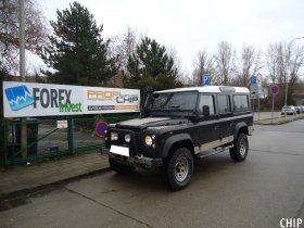 Chiptuning Land Rover Defender 110 2.5 TD5