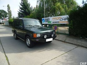 Chiptuning Land Rover Discovery 2.5 TD5