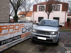 Chiptuning Land Rover Range Rover Sport 2.7 TD