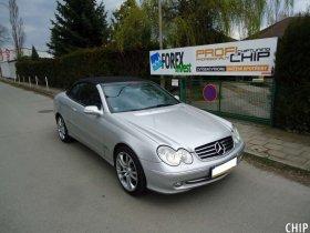 Chiptuning Mercedes-Benz CLK 200 Kompressor Cabrio